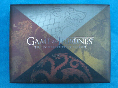 GAME OF THRONES COMPLETE FIRST SEASON 1 I BOX BluRay Dragon Egg Drachen Ei GOT