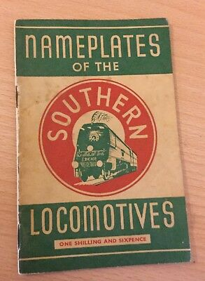 Nameplates of the Southern Locomotives Book 1946 Compiled by Frank H.A. BURRIDGE