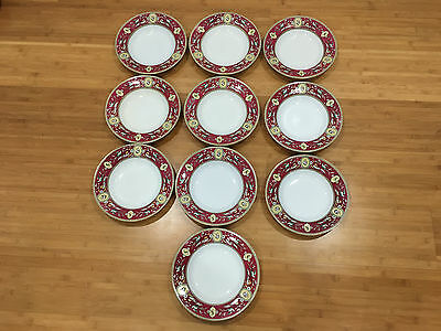 Antique Ridgway Sparks Ridgways Chelsea Pattern Set of 9 Bowls