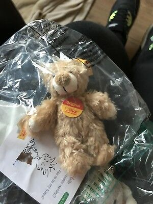 Steiff Teddy Bear Keychain 110153 RETIRED