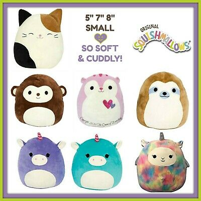 """Buy 1 Get 1 50% OFF Kellytoy Squishmallow 8"""" 13"""" 16"""" & Clip Many Varieties"""