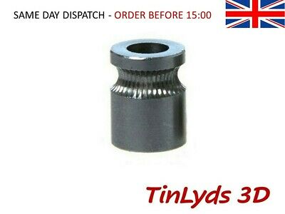 MK8 Drive Gear Stainless Steel Hobbed Extruder 5mm Shaft 3D Printer Reprap