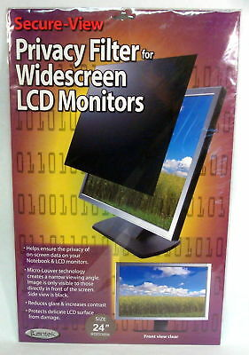 "Kantek Secure View LCD Monitor Privacy Filter for 22"" WIDESCREEN  SVL22W"