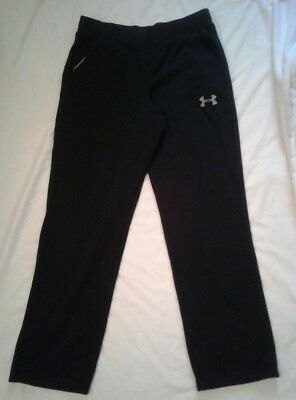 Boys Under Armour Loose Sweatpants Athletic Pants Youth Size XL Black