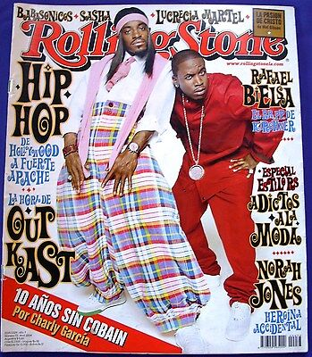 Outkast On Cover Kurt Cobain Rolling Stone Argentinian Edition Magazine 2004