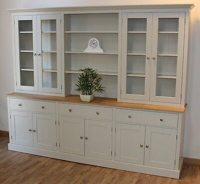 New Solid Pine 8FT Painted Welsh Dresser,Dinning/Kitchen Unit In Any F&B Colour