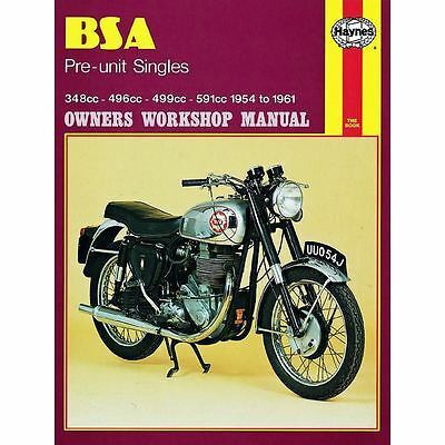 Haynes Manual 326 BSA PRE-UNIT SINGLES