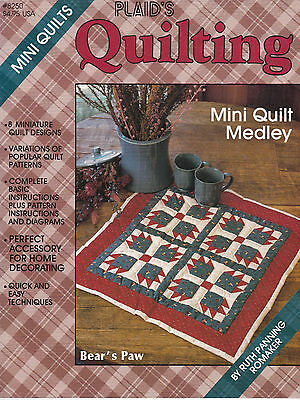 Plaids Quilting - Mini Quilts - Ruth Panning Romaker