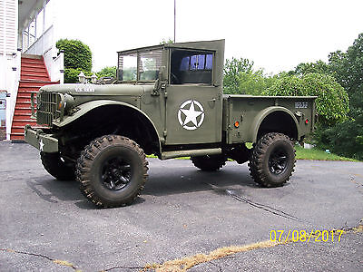 Dodge m37 military Power Wagon 1953