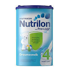 5x Nutrilon 4 (5x800 gram) -100% original Dutch Baby Powder Milk