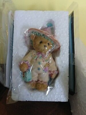 """Cherished Teddies """"Cora""""#113511 """"You've Put a Spell on My Heart 2003 Collectible"""