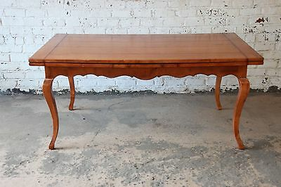 Baker Furniture Milling Road Country French Maple Extension Dining Table