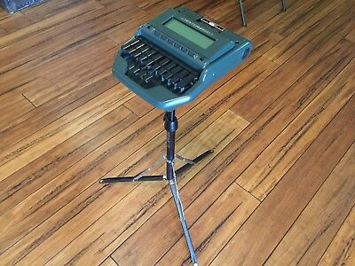 Stentura 8000LX  Court Reporting writer W/accessories. Good working condition.