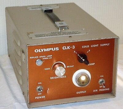 Olympus CLK-3 Cold Light Supply Endoscopy Light Source