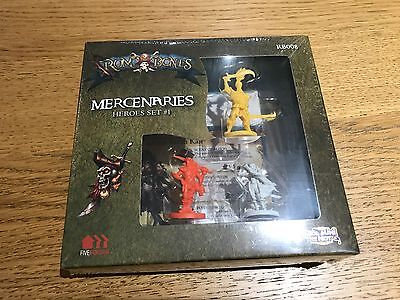 Cool Mini or Not - Rum & Bones: Mercenaries Heroes Set #1 - CMON BNIB sealed