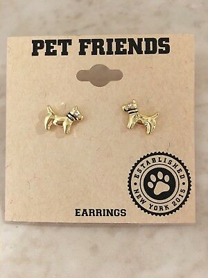 Doggie Earrings by Pet Friends - Perfect for Dog Lovers!