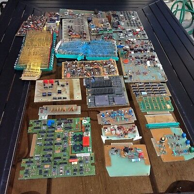 9Lbs Of Vintage Circuit Boards For Collecting Or Gold Recovery