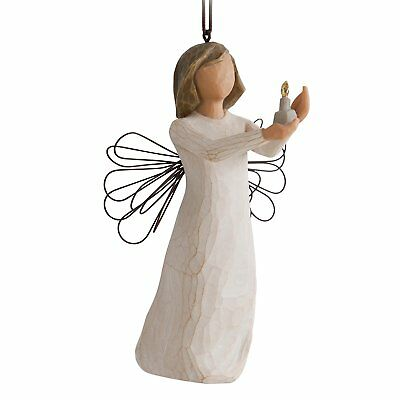 New & Boxed Willow Tree Hanging Ornament 'Angel of Hope' #27275 Christmas Gift