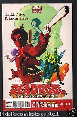 Deadpool #13 Power Man & Iron Fist (Marvel)