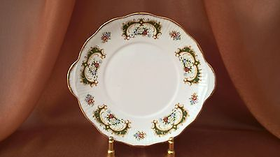 Queen's Staffordshire Fine Bone China Cake/sandwich Plate England