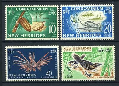 New Hebrides - French Administration 1965 Yv. 215-218 MNH 100% Nature Condomini