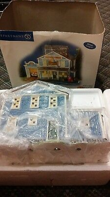 Dept 56 Snow Village - Cascades Marina - Weekend At The Lake w/Box