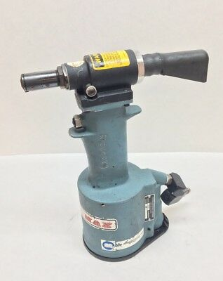 Cherrymax 704B Pneumatic Riveter W/ Nose Assembly Aircraft Tool