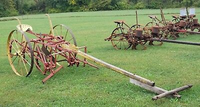 1900's Hayes 1 Row  Horse Drawn Cultivator. Very Nice!