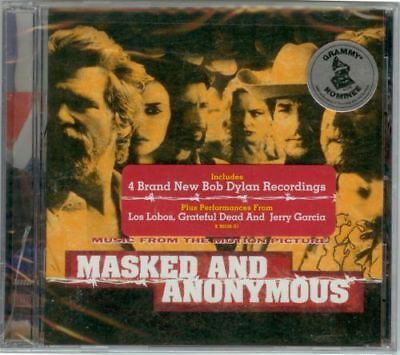 Bob Dylan, Jerry Garcia - Masked & Anonymous Cd