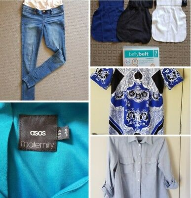 maternity clothes bundle, belly belt , 9 quality items