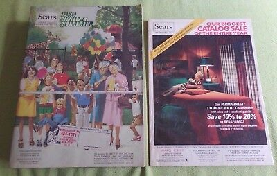 Sears 1980 Spring/Summer Catalog & 1979 Sale Catalog