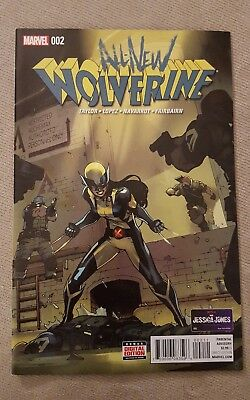 All New Wolverine #2 1ST Appearance Gabby 1ST Print Marvel Comics 2015
