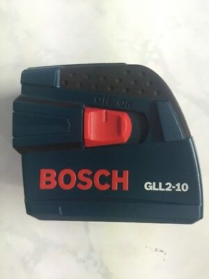 Gll2-10 Bosch 30ft Self Leveling Cross Line Laser Level Tool (No Case)