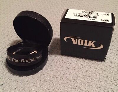 Volk Retina Lens Indirect Ophthalmic Diagnostic Lens 2.2. Brand New In Box.