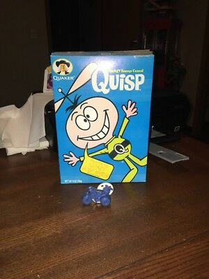 Vintage Quisp Gyro Cycle And Cereal Box