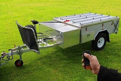 Brand New Off Road Hard Floor Camping Camper Trailer 7x5ft 4X4 4WD Caravan