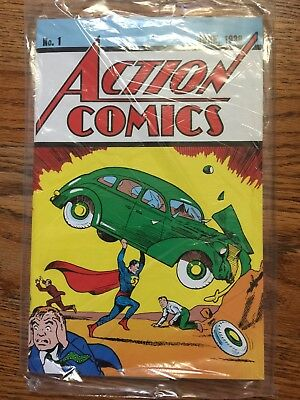 Action Comics #1 Superman Lootcrate Exclusive Reprint Brand New Sealed 2017