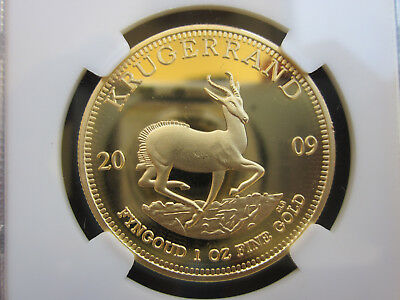 2009 PROOF PF70 ULTRA CAMEO SOUTH AFRICA 1 OZ FINE GOLD BULLION Great investmen
