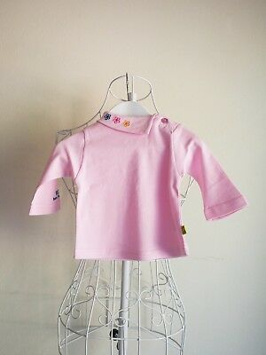 """""""Born 2 Succeed"""" Size 000 - Pink Baby Girls Skivvy Top - BNWT! Bargain Price."""