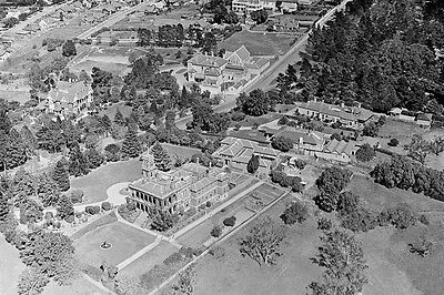 KEW RAHEEN MANSION Victoria c1930 Aerial View modern digital Postcard