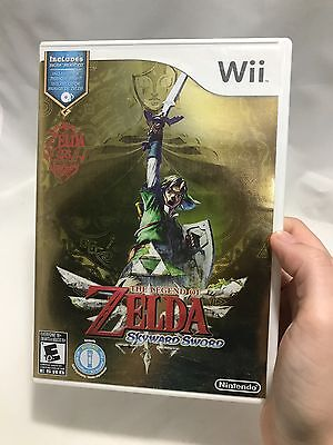 The Legend of Zelda: Skyward Sword (Nintendo Wii, 2011). Collectors Edition!