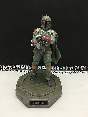 Star Wars 1998 Hasbro Lucasfilm Ltd. Boba Fett Display Figure - Rotates 360 o