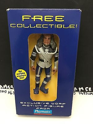 1997 Exclusive Star Trek: The Next Generation Worf Action Figure from Playmates