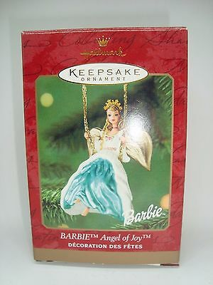 BARBIE Collectible Hallmark Ornament. ANGEL OF JOY! 2000 AWESOME!!