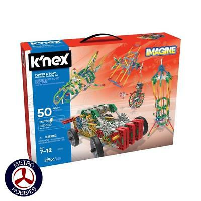 KNex Power and Play 50 Model Motorized Set KN23012 Brand New