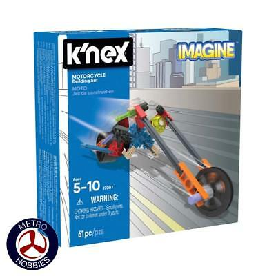 KNex Motorcycle Building Set KN17007 Brand New
