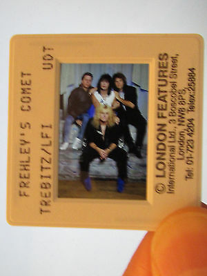 Original Press Promo Slide Negative- Frehley's Comet -Ace Frehley - KISS - 1980s