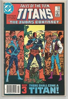 Dc Comics #44 Tales Of The Teen Titans Wow Near Perfect To Perfect Comic