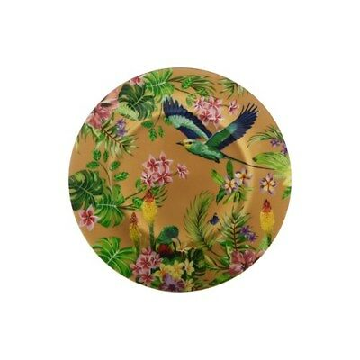 Maxwell & Williams Cashmere Birds of Paradise 19cm Plate Gold Brand New