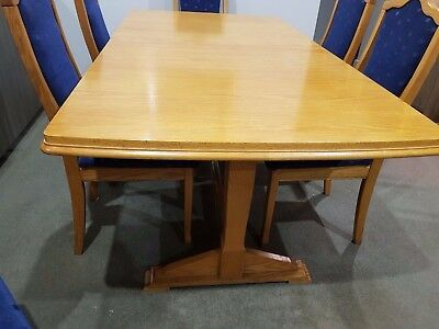 Dining Table, 8 Chairs and Sideboard